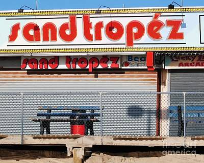 Seaside Heights Photograph - Sand Tropez by Daniel Diaz