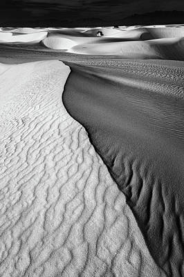 White Sands Wall Art - Photograph - Sand Waves by Lydia Jacobs