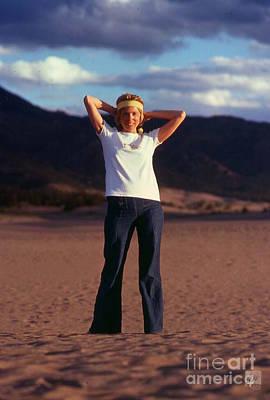 Photograph - Sand Woman by Jon Burch Photography