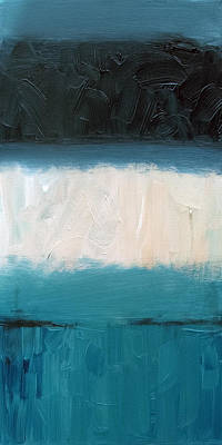Painting - Sandbar 3 by Sean Parnell
