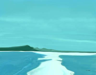 Sandbar Art Print by Tim Stringer