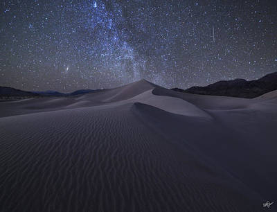 Peter James Nature Photograph - Sandbox Under The Stars by Peter Coskun