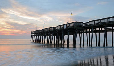 Sandbridge Pier Art Print