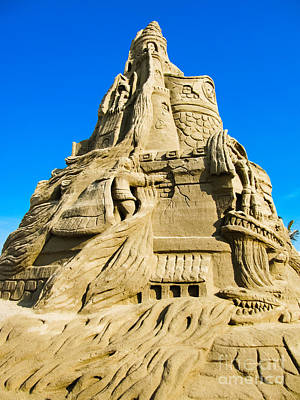 Photograph - Sandcastle by Colleen Kammerer