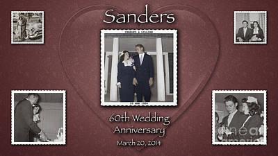 Sanders 60th Anniv Art Print
