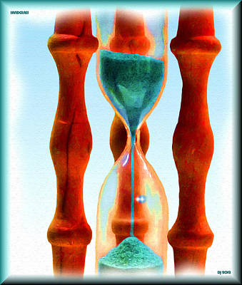 Grit Digital Art - Sandglass by Daniel Janda