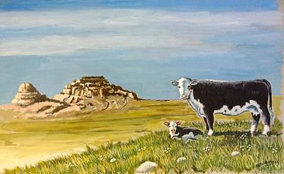 Painting - Sandhills Spring by Bern Miller