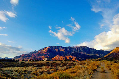 Photograph - Sandia Foothills by Claudia Goodell