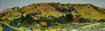 Art Print featuring the painting Sandia Heights by Jeffrey S Perrine
