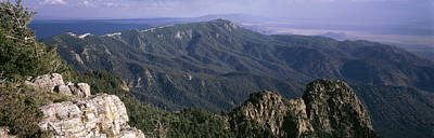 Sandia Mountains, Albuquerque, New Art Print by Panoramic Images