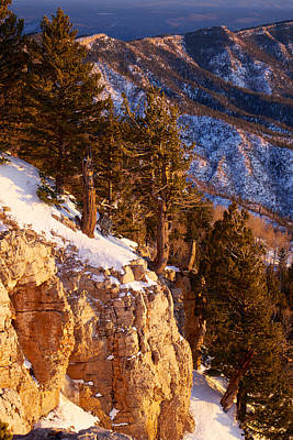 Photograph - Sandia Peak Summit Albuquerque New Mexico by Mary Lee Dereske