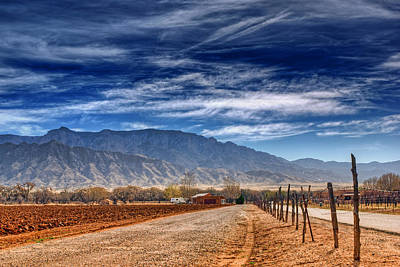 Sandias Photograph - Sandias In My Backyard by Nikolyn McDonald