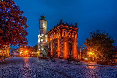 Photograph - Sandomierz Town Hall by Roman St