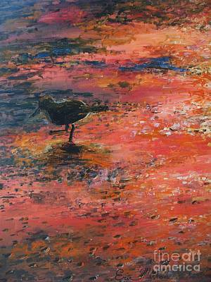 Sandpiper Cape May Art Print by Eric  Schiabor