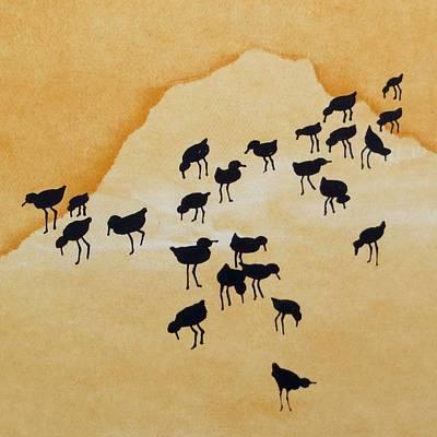Sandpipers Art Print by Ralf Berg