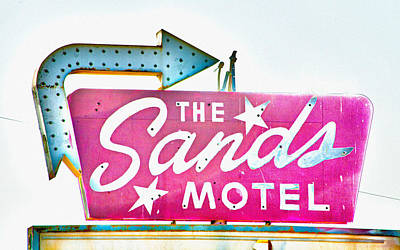 Photograph - Sands Motel-california by April Bielefeldt