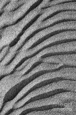 Wave Pattern Photograph - Sands Of Time by Tim Gainey