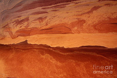 Photograph - Sandstone Abstract Colorado Plateau Utah by Dave Welling