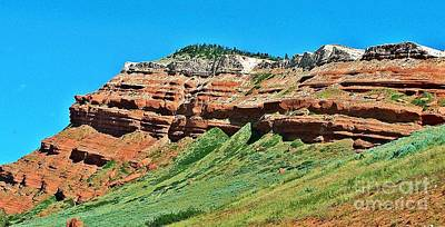 Photograph - Sandstone And Sage by Christian Mattison