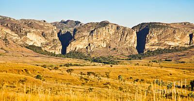 Photograph - Sandstone Canyons Madagascar by Liz Leyden