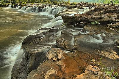 Photograph - Sandstone Falls by Adam Jewell