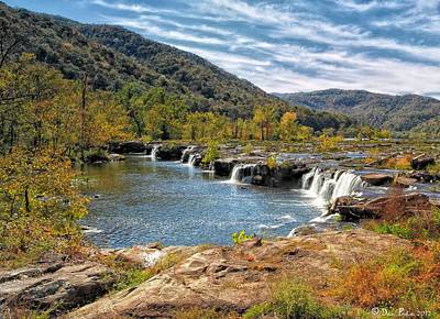 West Virginia Photograph - Sandstone Falls by Daniel Behm