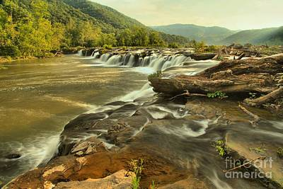 Photograph - Sandstone Falls Landscape by Adam Jewell