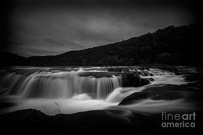 Photograph - Sandstone Falls Late by Dan Friend