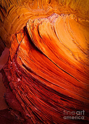 Sculpting Photograph - Sandstone Flakes by Inge Johnsson
