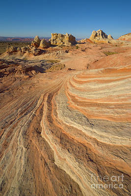 Photograph - Sandstone Formations Coyote Buttes by Yva Momatiuk John Eastcott