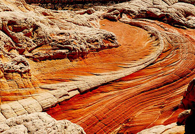 Slickrock Photograph - Sandstone Highway by Alan Socolik
