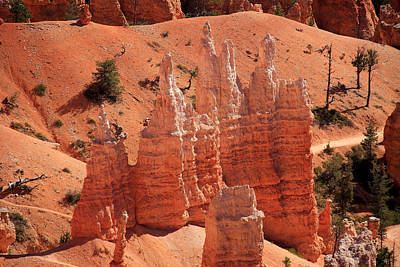 Photograph - Sandstone Pillars by Aidan Moran