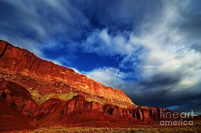 Capital Reef Photograph - Sandstone Pillars by Sean  Jungo
