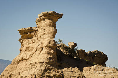 Sandstone Rock Formation  Art Print by David Gordon