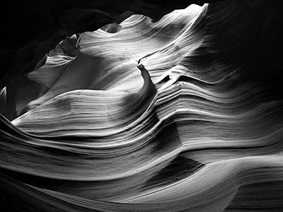 Sandstone Wave Art Print
