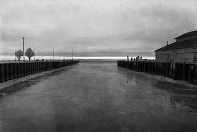 Photograph - Sandusky Bay - Frozen Harbor by Shawna Rowe