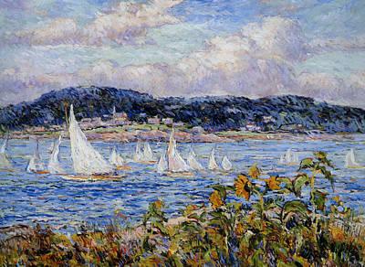 Sandy Bay Cape Ann Massachusetts Art Print by Beal Reynolds