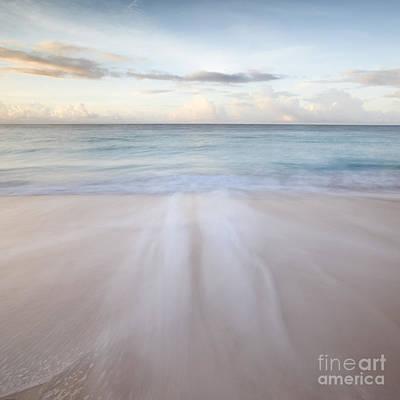 Sandy Beach At Sunrise - Barbados Art Print