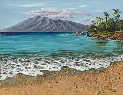 Painting - Sandy Beach by Darice Machel McGuire
