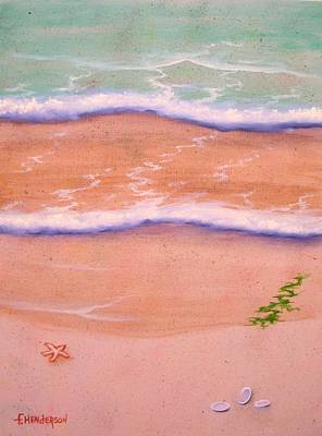 Painting - Sandy Beach by Francine Henderson