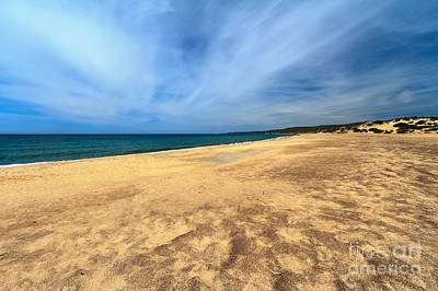 Piscina Photograph - sandy beach in Piscinas by Antonio Scarpi
