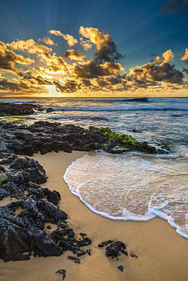 Photograph - Sandy Beach Sunrise 10 by Leigh Anne Meeks