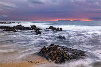 Photograph - Sandy Beach Sunrise 12 by Leigh Anne Meeks