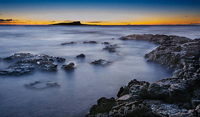 Photograph - Sandy Beach Sunrise At East Oahu by Tin Lung Chao