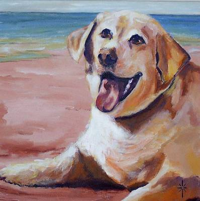 Painting - Sandy Bell by Jodie Marie Anne Richardson Traugott          aka jm-ART