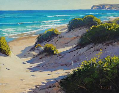Dunes Painting - Sandy Dunes by Graham Gercken