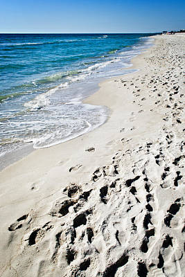 Photograph - Sandy Footprints by George Taylor