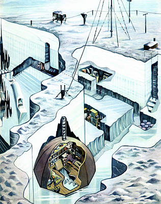 Sandy Glen's Arctic Expedition Art Print by Cci Archives