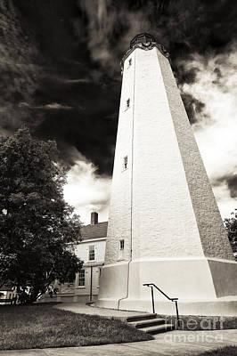 Photograph - Sandy Hook Lighthouse Angles by John Rizzuto