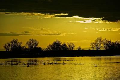 Photograph - Sandy Mush Sunset by Eric Tressler